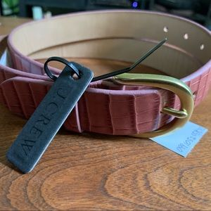 Genuine Leather J Crew Belt M